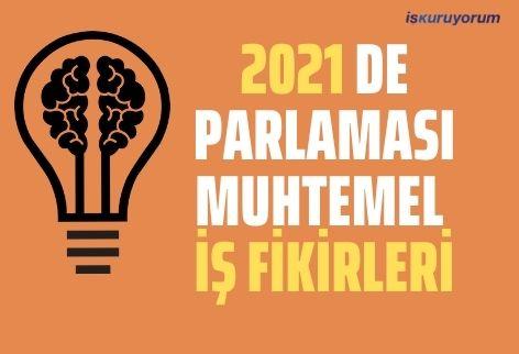 2021 Yılında Parlaması Muhtemel İş Fikirleri