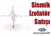 Sismik İzolatör - Deprem İzolatör Satışı Yapmak