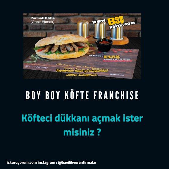 boy boy köfte franchise