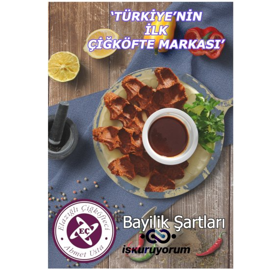 ciğ köfteci Ahmet Usta Bayilik