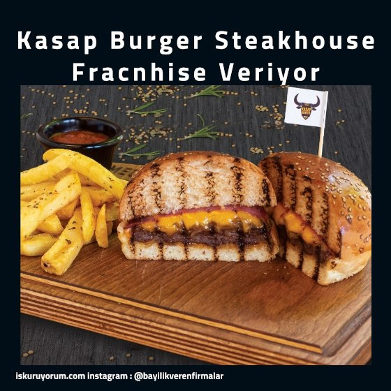 kasap burger franchise