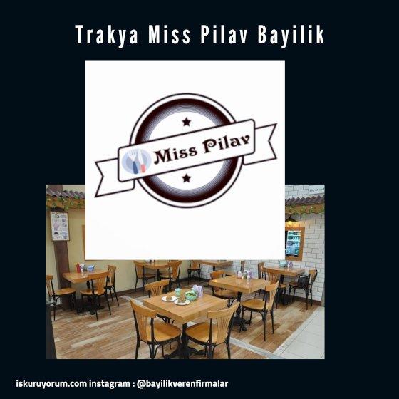 miss pilav bayilik