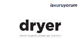 Dryer Çamaşır Kurutmalık  bayilik /franchise