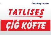 Tatlıses Çiğköfte Bayiliğ bayilik /franchise